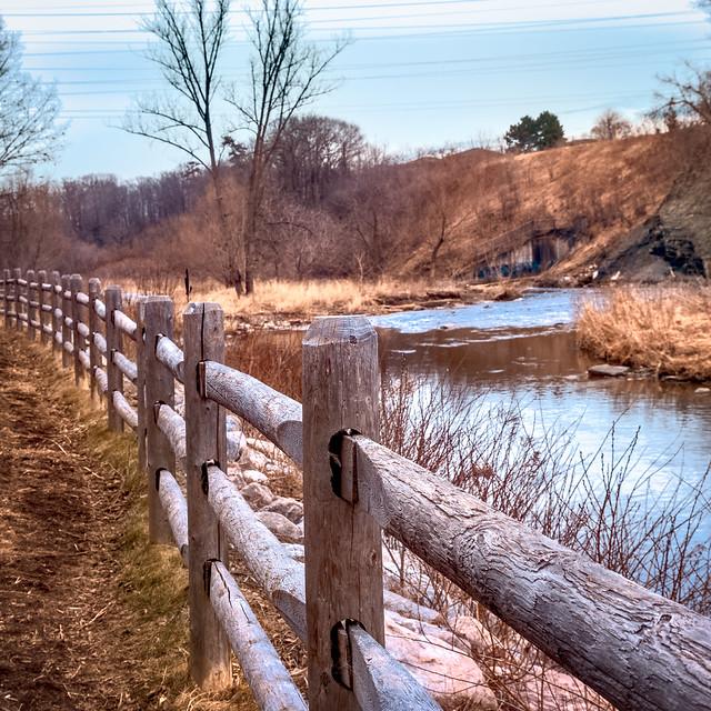 Etobicoke Creek Fence HFF