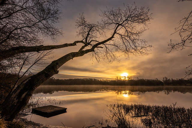 Sunrise over Eglinton Park