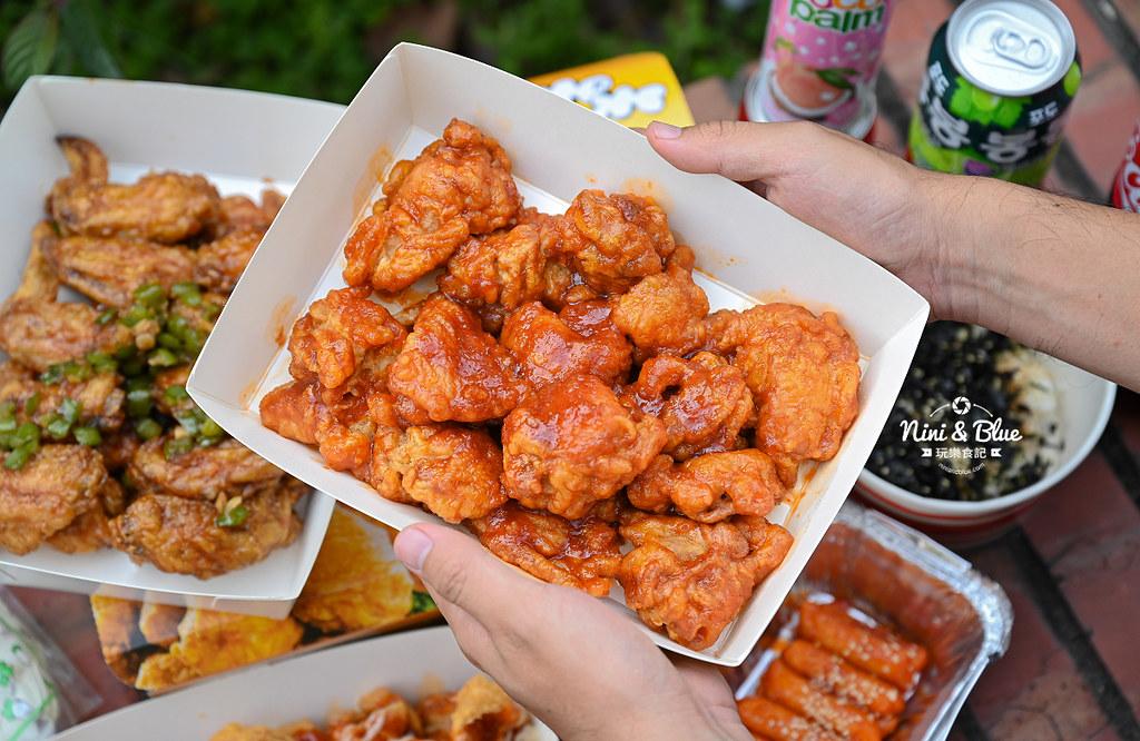 起家雞 台中韓國炸雞 菜單外送12