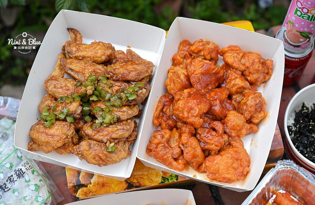 起家雞 台中韓國炸雞 菜單外送11