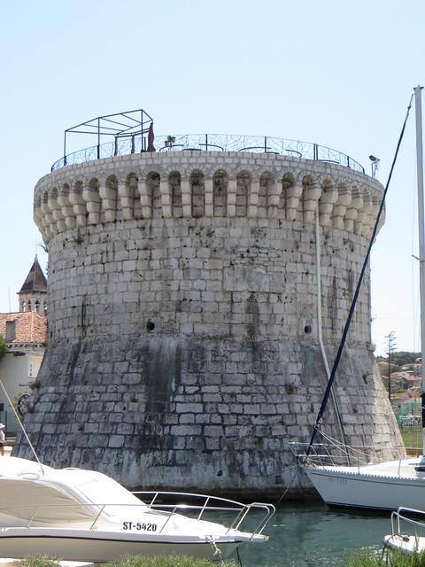 Tour de St Marc (XVe), Trogir, comitat de Split-Dalmatie, Croatie.