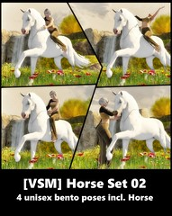 [VSM] Horse 02 - Poseset