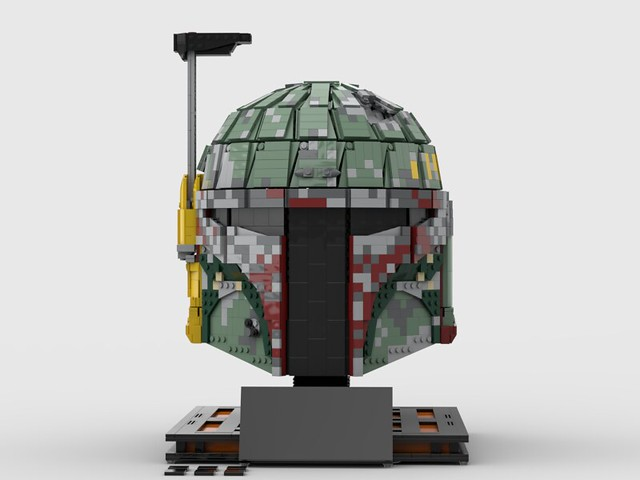 Boba Fett Helmet MOC