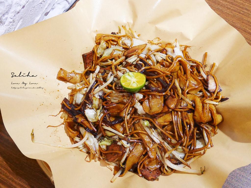 台北松山區饒河夜市美食推薦寶林咖啡館饒河街餐廳台北素食好吃美食 (5)