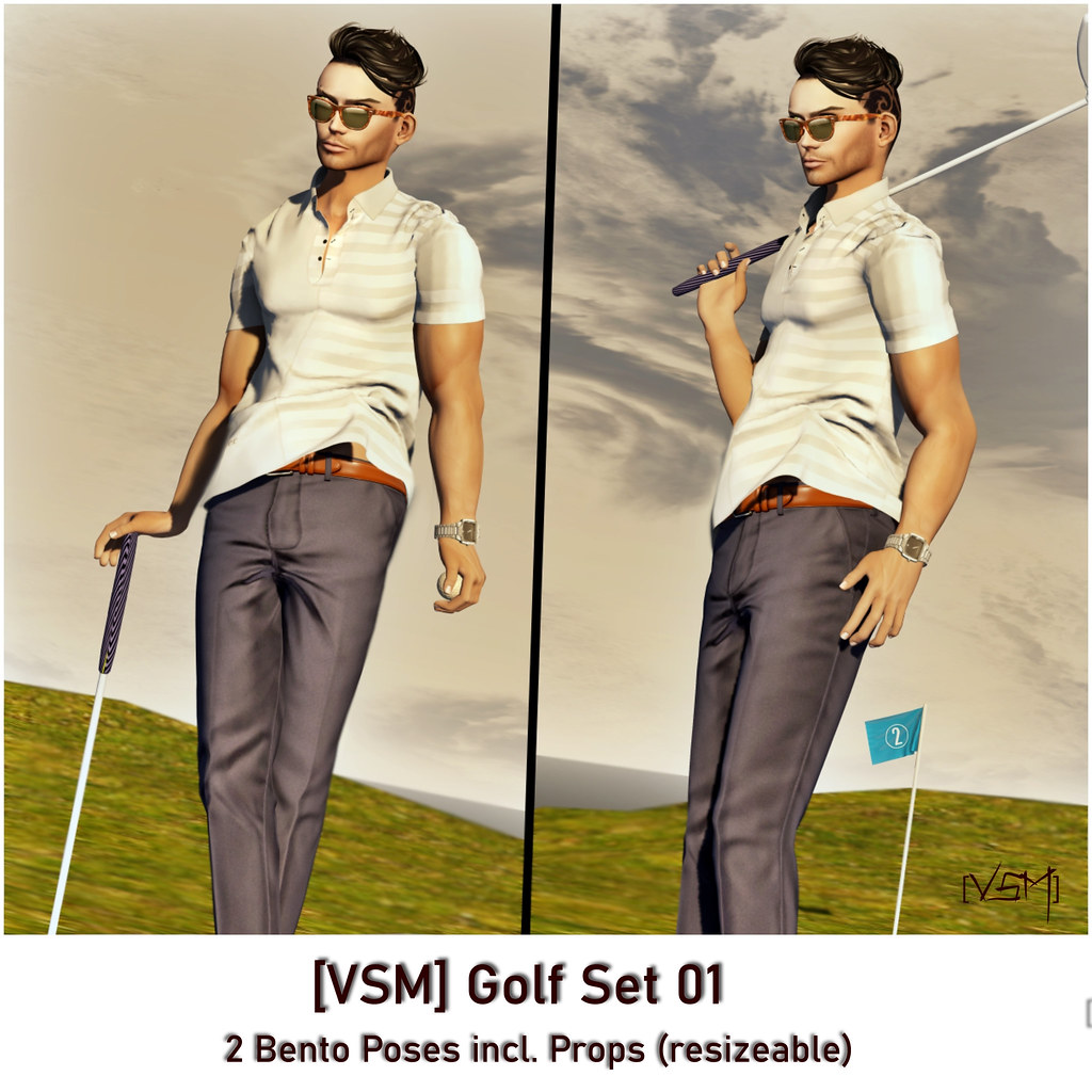 [VSM] Golf Pose Set 01 – AD (2)
