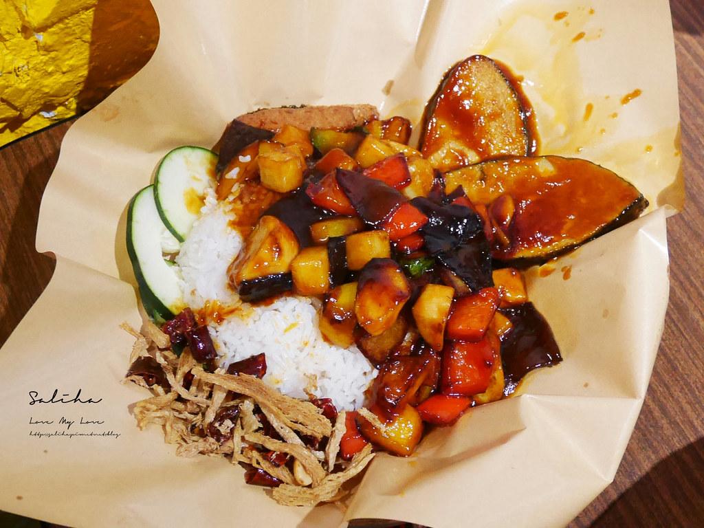 台北松山區美食寶林咖啡館松山站美食餐廳推薦好吃素食異國料理 (1)
