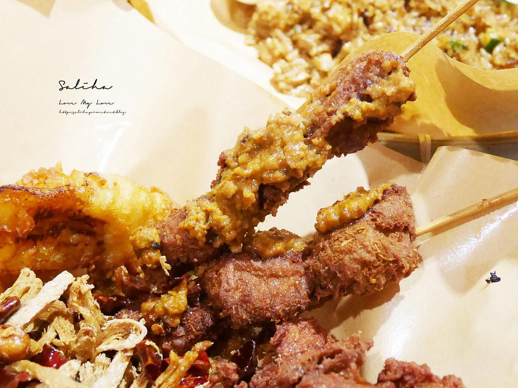 台北饒河夜市素食美食推薦寶林咖啡館馬來西亞美食小吃特色異國料理松山區美食 (1)