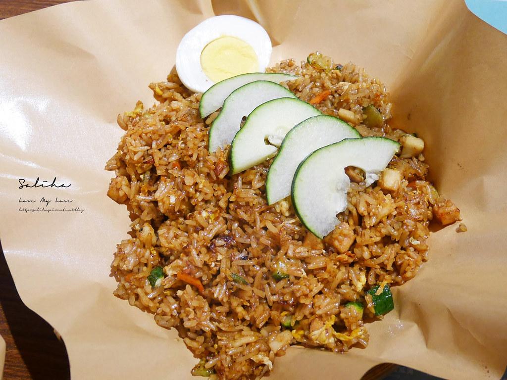 台北好吃馬來西亞料理異國素食寶林咖啡館松山區素食餐廳推薦饒河街餐廳 (1)