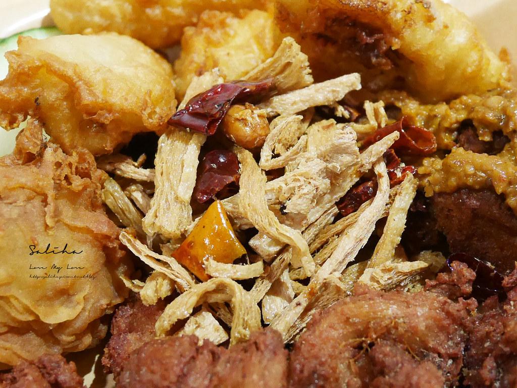 台北吃素寶林咖啡館饒河店Po Lam Kopitiam馬來西亞素食美食 (1)