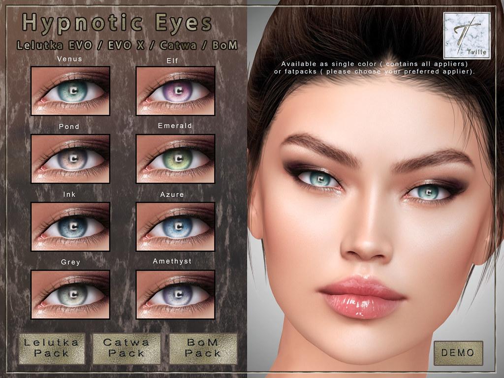 Tville – Hypnotic Eyes