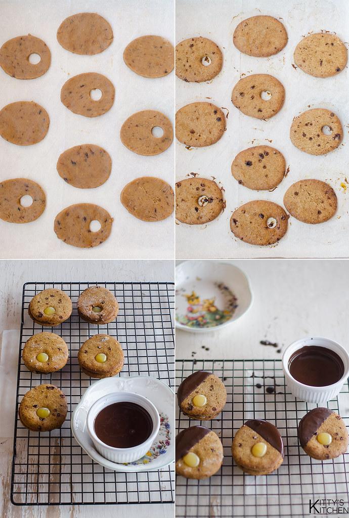 biscovetti di Pasqua, limone e cioccolato