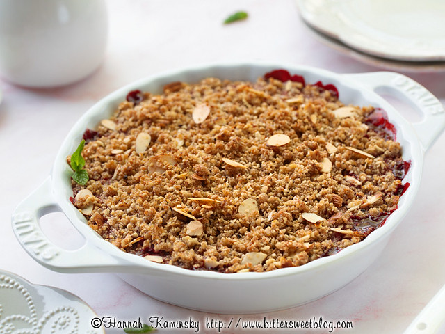 Mixed Berry Matzo Crumble 1