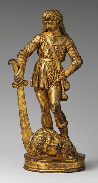 ゴリアテの首を切り落としたダビデの像 Bartolomeo Bellano | David with the Head of Goliath | Italian, Padua | The Metropolitan Museum of Art