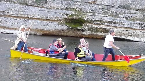 Barque grotte