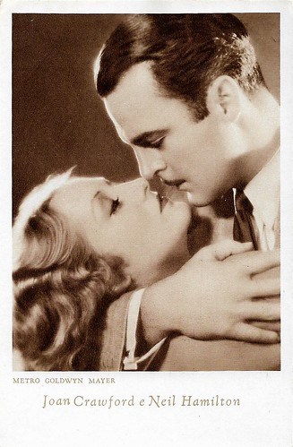 Joan Crawford and Neil Hamilton in Laughing Sinners