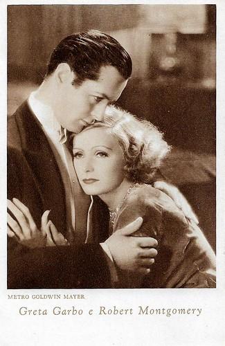 Greta Garbo and Robert Montgomery in Inspiration (1931)