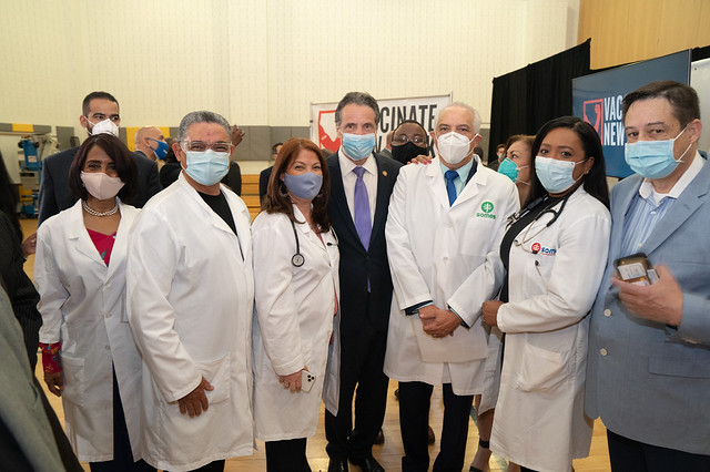 Governor Cuomo Announces Partnership With SOMOS Community Care to Vaccinate Underserved New Yorkers for COVID-19 at Community Medical Practices