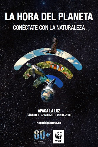 Cartel promocional de La Hora del Planeta 2021