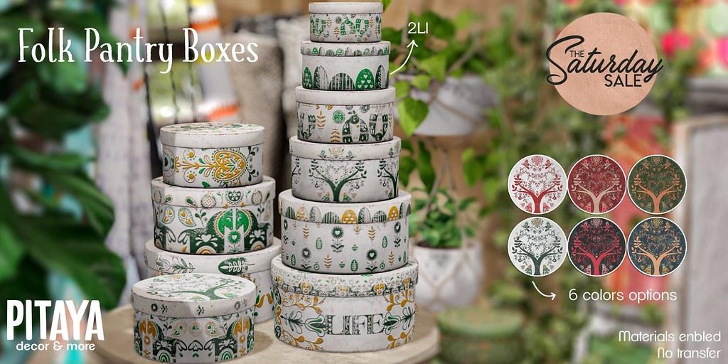 Pitaya – Folk pantry boxes@TSS