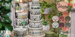 Pitaya - Folk pantry boxes@TSS