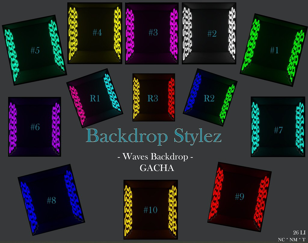 Backdrop Stylez – Wave Backdrop – Gacha