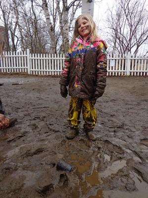 head to toe mud