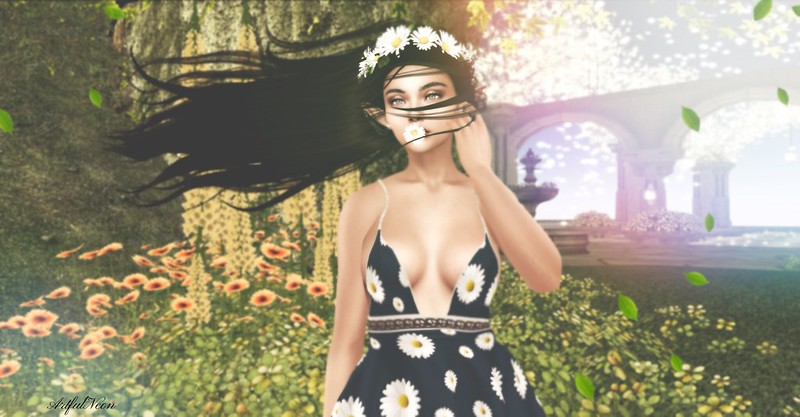 FabFree Photo Challenge - Feeling lucky basking in Spring!