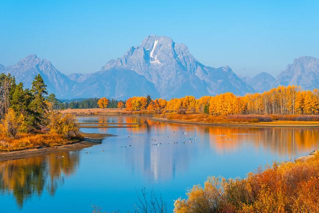 Grand Tetons National Park Autumn Colors Wyoming Aspens Fall Foliage Fuji GFX100 Fine Art Landscape Nature Photography! Elliot McGucken Master Medium Format Fine Art American West Photography! Fujifilm GFX 100 & Fujinon FUJIFILM GF Lens