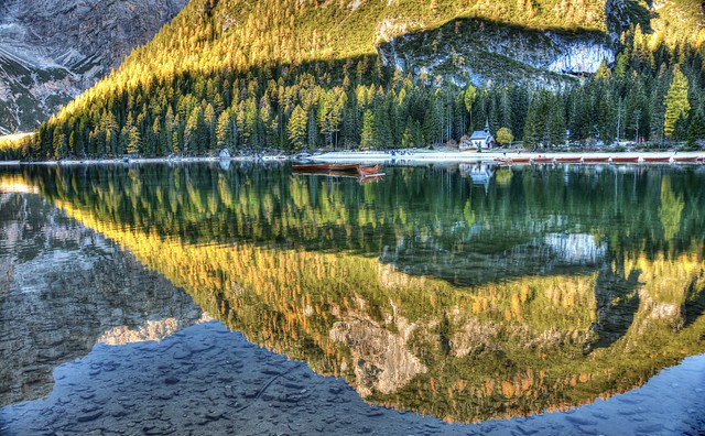 Postcard from Braies (on Explore)