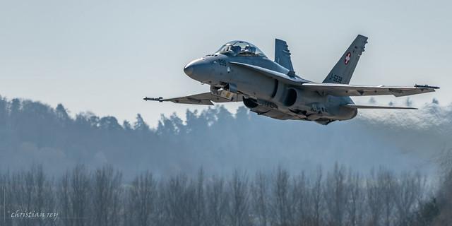 F/A-18 Training Swiss Hornet Display Team