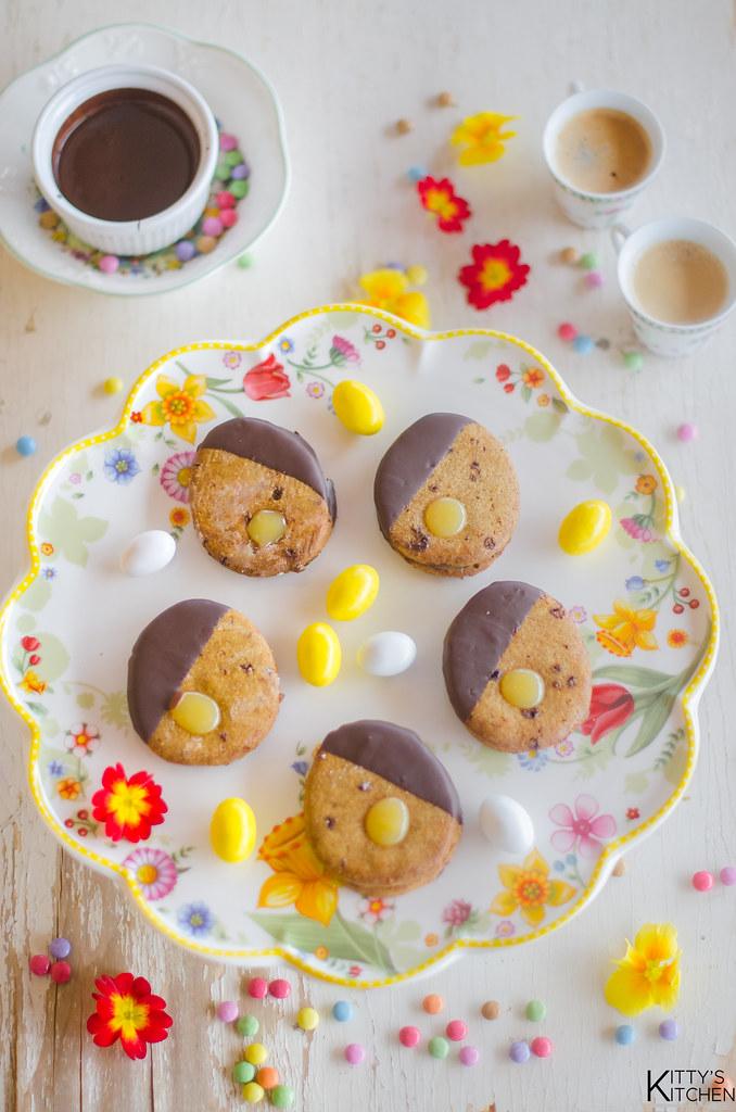 biscovetti di Pasqua limone e cioccolato