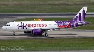 Hong Kong Express A320-271N msn 10414 D-AVVV / B-VC