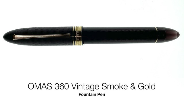 OMAS 360复古烟雾& Gold Fountain Pen