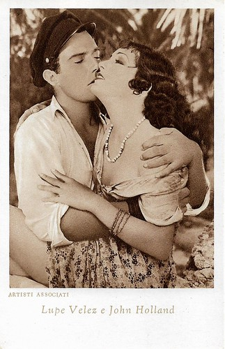 Lupe Velez and John Holland in Hell Harbor