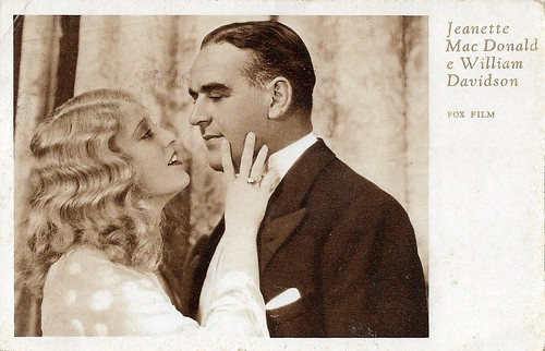 Jeanette MacDonald and William Davidson in Oh, for Man! (1931)
