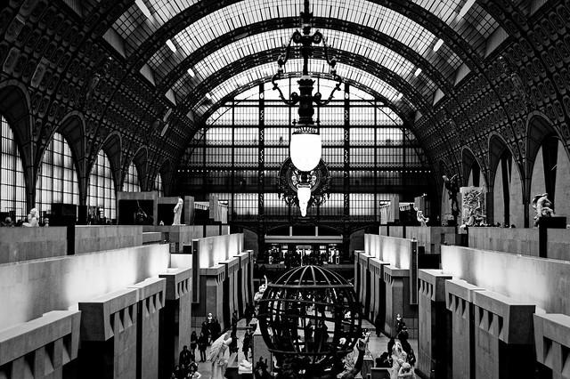 Paris, musée d'Orsay, B&W, 13