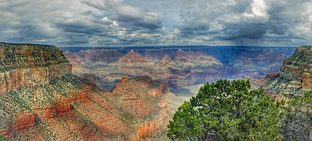 The Grand canyon Arizona.