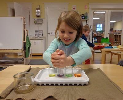 making violet