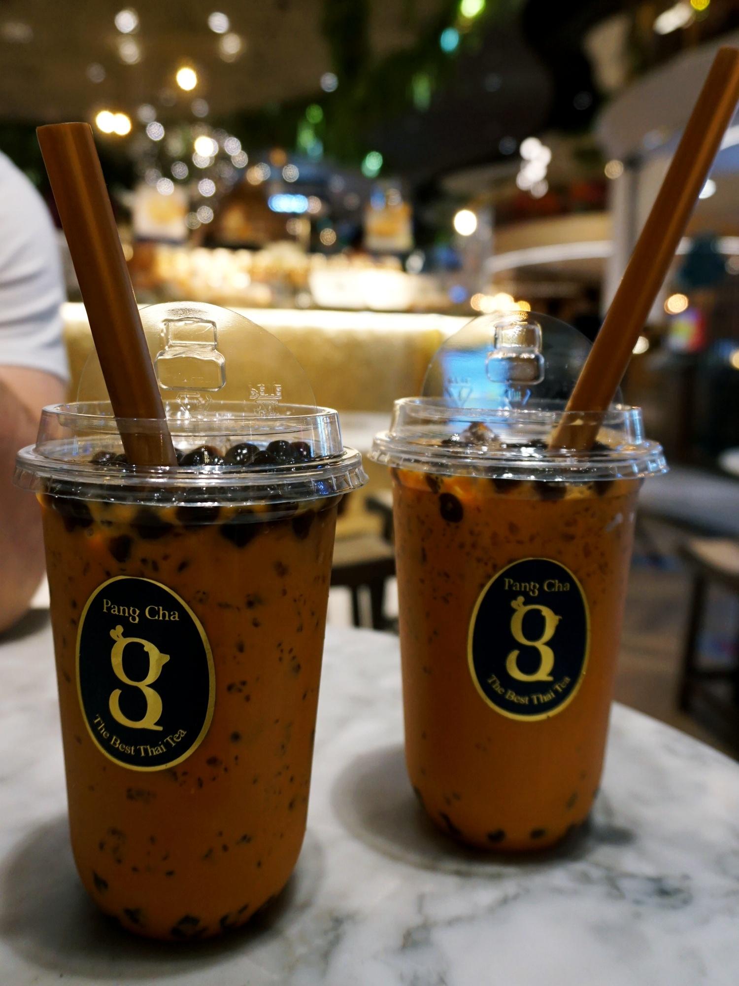 Iconsiam Thai milk tea