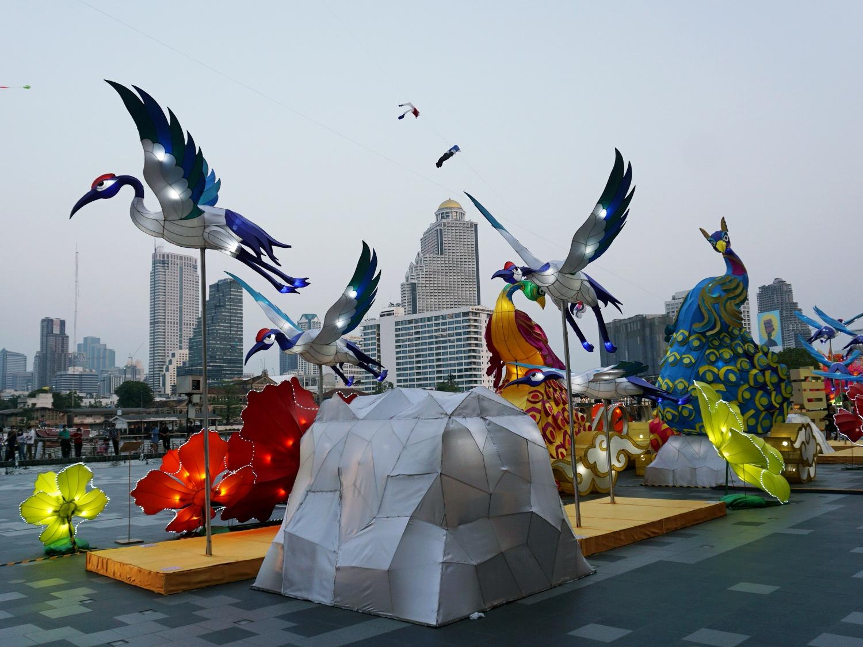 Iconsiam kite show