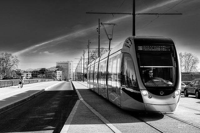 Le Tram à Toulouse...