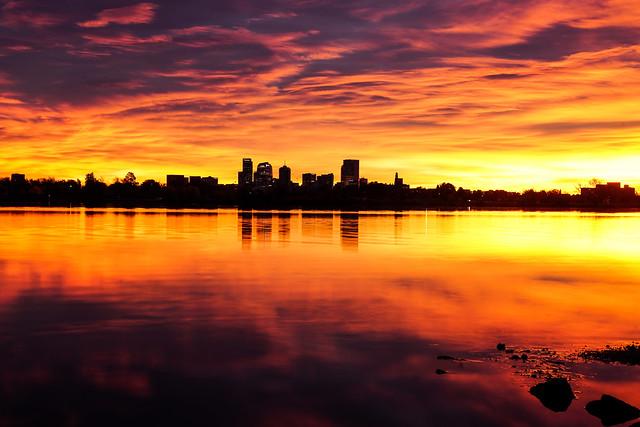 Sloan's Lake - Denver Skyline[Explored]