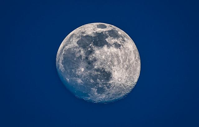 Der Mond von heute Abend