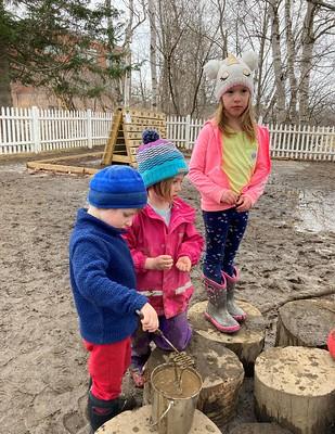 mud drips