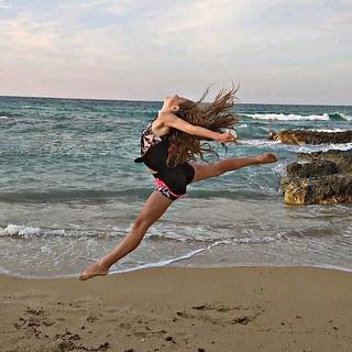 Rebecca Carenza - 3° classificata nel concorso fotografico di Csen Danza Puglia