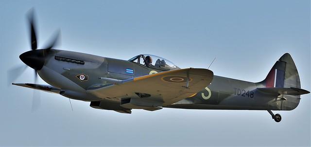 RAF Supermarine Spitfire LFXVIe G-OXVI TD248 CR-S