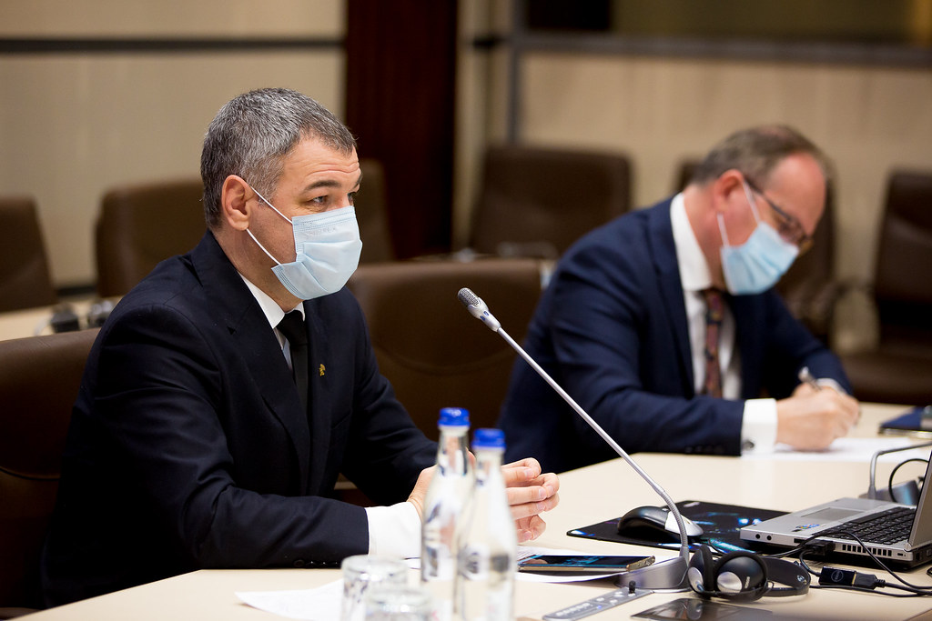 27.03.2021 Ședința solemnă de consemnare a Zilei de 27 martie 19 - 103 ani de la Unirea Basarabiei cu România