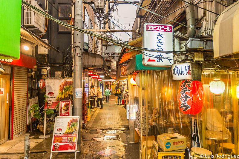 Bares y restaurantes en Harmonica Yokocho