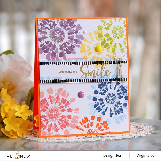 Altenew-Tie Dye Motifs Stamp Set