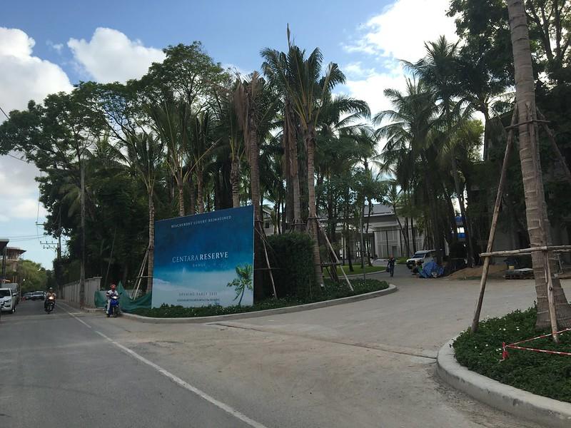 chaweng beach road 27/03/2021 チャウエンビーチロード サムイ島 koh samui